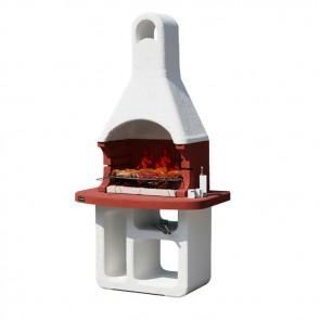 Barbecue in muratura a carbonella Sunday Grill MCZ KORSIKA SMIRNE griglia 67x40