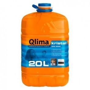 Combustibile Liquido Qlima KRISTAL 20 litri per Stufe Zibro Kamin Savichem Petrolio