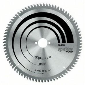 Lama per sega circolare BOSCH Optiline Wood 254 MM 2608640444