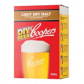 Intensificatore Coopers LIGHT DRY MALT birra artigianale 500g schiuma corposità zucchero