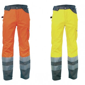 Pantalone Lavoro Antifortunistica Cofra Light Fluo