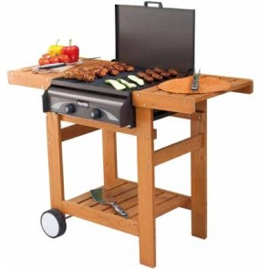 Barbeque BBQ Giardino a GAS-GRILL SUNDAY MASTER 2 WOODY