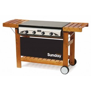 Barbeque a GAS-GRILL SUNDAY MASTER 4 W  INOX