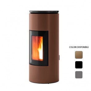 Stufa a Pellet ad Aria 8 kW MCZ MOOD Comfort Air Canalizzabile