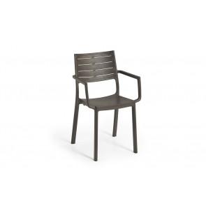 Sedia da Esterno per Giardino KETER Metaline Chair IRON in plastica effetto ferro