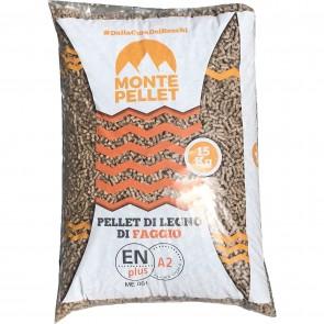 Pellet per Stufe MONTE PELLET €4,20 in sacchi da 15kg  - pedana da 80 sacchi