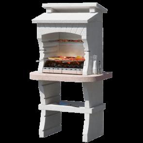 Barbecue in muratura Sunday Grill MCZ NAIROBI Carbonella Legna griglia 60x40