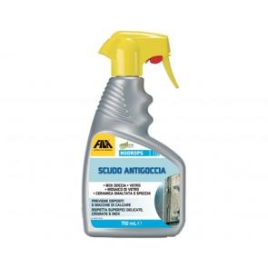 Pulisce e protegge le superfici FILA NODROPS da 750ml antigoccia ideale per box doccia
