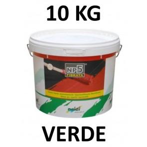 Guaina Liquida Colorata NP5 10kg Verde