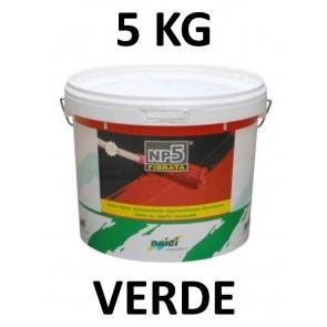 Guaina Liquida Colorata NP5 5kg Verde