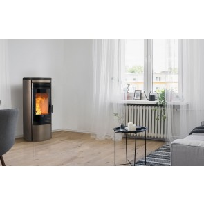 Stufa a Pellet ad Aria Canalizzabile KLOVER OMEGA MULTI AIR 9,5kW 235m³