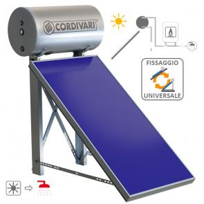 Pannello Termico Solare Cordivari PANAREA da 200LT 4 MQ UNIVERSALE Circolazione Naturale