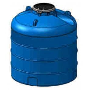 Serbatoio da esterno polietilene stoccaggio acqua PANETTONE Rototec litri 2000