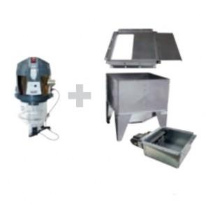 Sistema Stoccaggio Pellet Automatizzato con Storage Klover PELLET VACUUM SYSTEM PVS.BOX2