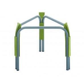Piedistallo in acciaio Cordivari VINOLIO-JOLLY 30-50 diametro 370 H 320 supporto per contenitori alimentari