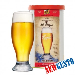 Malto per Birra Artigianale PILSNER 86 DAYS Coopers Selection 1,7KG
