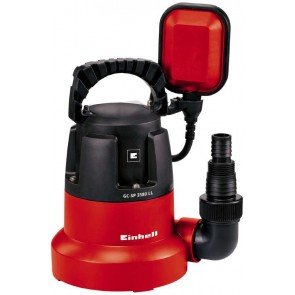Einhell Pompa immersione acque chiare fondo piatto GC-SP 3580 LL   cod 4170445