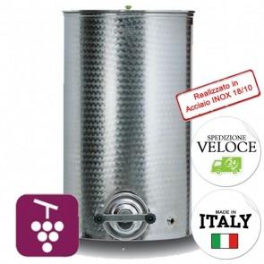 Contenitore VINO Cordivari VINOLIO PORTELLA  DIM515 200 lt INOX 18/10 Per Alimenti