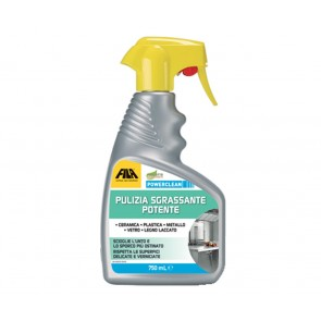 Sgrassatore FILA POWERCLEAN da 750ml pulizia sgrassante potente