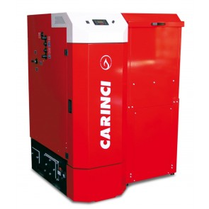 Caldaia a Pellet CARINCI PRESRIGE POWER Riscaldamento + A.C.S. Modelli 270 - 350 - 500