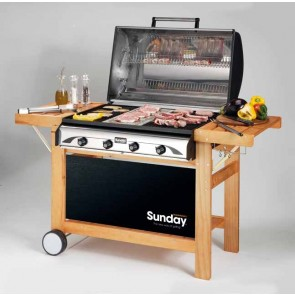 Barbeque a GAS-GRILL SUNDAY PROFY 4 W