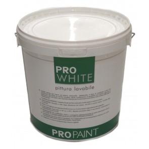 Pittura Lavabile ProPaint PRO WHITE Lt 13