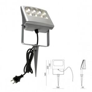 Picchetto con led Art. 99634/72 Alluminio