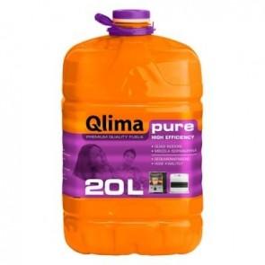 Combustibile Liquido Qlima PURE 20 litri per Stufe Zibro Kamin Savichem Petrolio