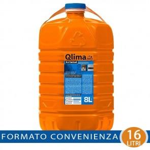 Combustibile Liquido Qlima Kristal 8 o 16 litri per Stufe Zibro Kamin Savichem Petrolio