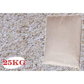 Sabbia con Quarzo Sferico per filtro piscina 25Kg 0,4-0,9 silicea naturale quarzifera