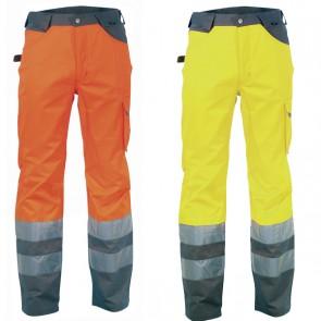Pantalone Lavoro Antifortunistica Cofra Ray Fluo
