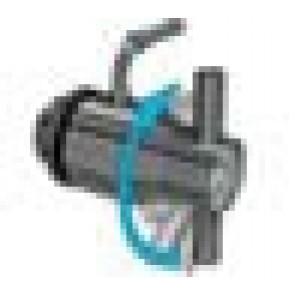"""Rubinetto antigoccia in acciaio inox 1"""" con dado regolatore per Contenitore Cordivari Vinolio"""