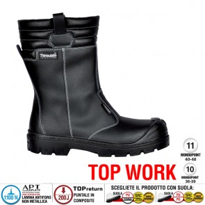 Scarpe antinfortunistiche Cofra SAVAI UK S3 CI SRC taglie dal 40 al 47  Linea TOP WORK