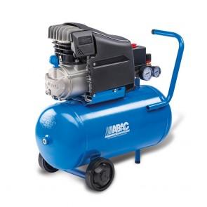 Compressore ABAC LINE L20 220 l/min Con Trasmissione Diretta Lubrificata 2 Hp Lt.24