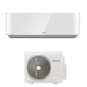 Condizionatore Climatizzatore Ambiente Unità Interna Ed Esterna UNICAL AIR CRISTAL 10000Btu KMUN 10H R-32