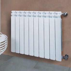 Radiatore Calorifero Da Interno In Alluminio Termosifone KALDO Interasse 700mm