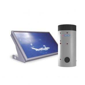 Pannello Solare Sitema Termico Cordivari STRATOS DR 180 Con BOLLY 1 XL INOX