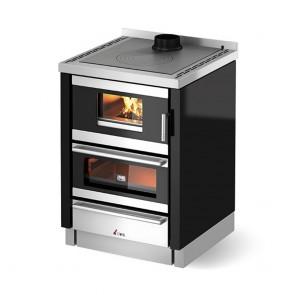 Cucina A Legna CADEL KOOK 60 4.0 Compresa Di Kit Ventilazione E Luce In Varie Colorazioni