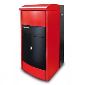 Termostufa CARINCI COMBI 200 BOX Riscaldamento + A.C.S. Legna E Pellet