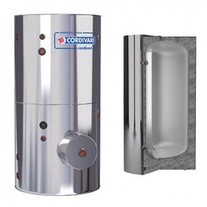 Vaso Inerziale CORDIVARI A1 W Coibentazione Non Smontabile Accumulatore Polywarm Di A.C.S. Modello Da 300 a 2000