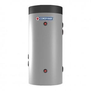 Cordivari Bollitore Polywarm Bolly Primo da 100 a 300 con 1 Scambiatore Fisso per produzione di Acqua Calda Sanitaria e Installazione a Parete o a Basamento a Coibentazione Rigida