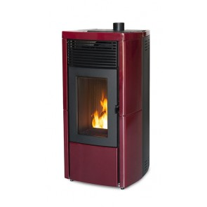 Stufa a Pellet ad Aria MCZ Star Comfort Air 10 UP! M1 10kW Rivestimento Ceramica e Serpentino