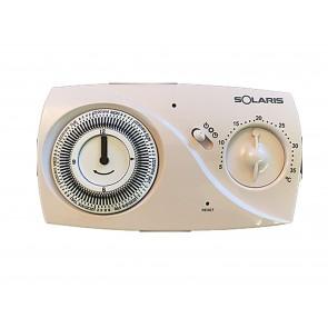 Cronotermostato Settimanale Parete Solaris SIRIO MS UEN106940 elettronico analogico