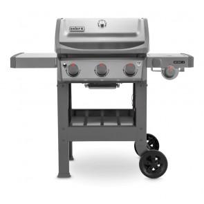 Barbecue a Gas GPL Weber Spirit II S-320 GBS con 2 Bruciatori + Bruciatore e Ripiano Laterale