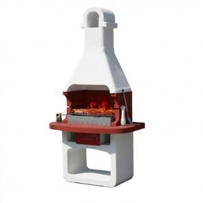 Barbecue in Muratura Carbonella e Legno BBQ SUNDAY COMO