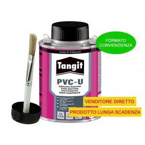 Colla Adesivo TANGIT per PVC-U con Pennello 250g per tubi e raccordi ripara e sigilla