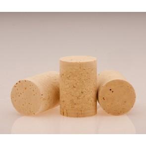 Tappi Tecnici per Bottiglie in Sughero Turaccioli Agglomerati e Rondelle Naturali 24x44 1+1 100 pezzi ART83