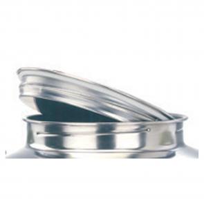 Tappo in acciaio inox per modelli 30-50-75-100 lt Contenitore Alimenti Cordivari JOLLY
