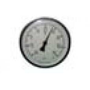 Termometro bimetallico in acciaio Inox diam 100 scala -20/+60 gradi centigradi per Contenitore Cordivari Vinolio Cantina