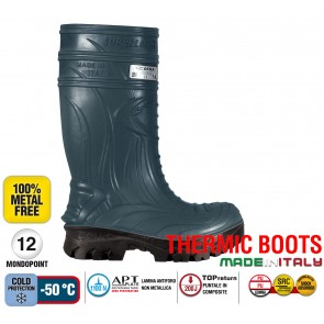 Stivale Termico Gomma Cofra THERMIC BLUE S5 HRO CI SRC THERMIC BOOTS